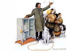 Illustrations Vintage N.Rockwell