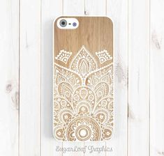 Ethnic Pattern iPhone Case Wood Print by theSugarloafBoutique, $17.95 Clear Rubber