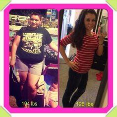 My transformation :)