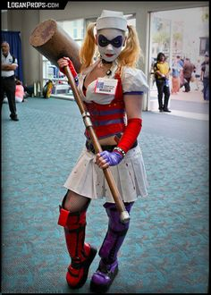 Harley+Quinn+Hammer/Mallet+for+costume+cosplay+by+LoganProps
