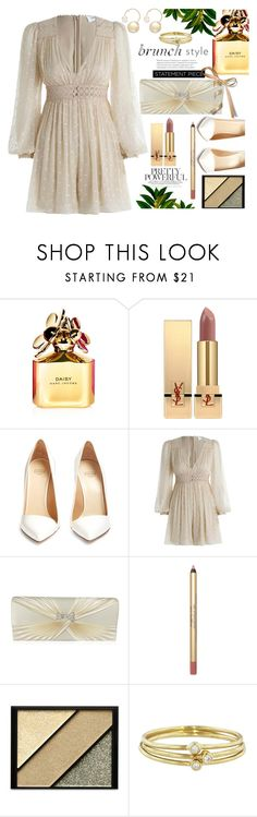 """Pretty powerful mother"" by carleen1978 on Polyvore featuring Marc Jacobs, Yves Saint Laurent, Francesco Russo, Zimmermann, Elizabeth Arden, Jennifer Meyer Jewelry and Witchery"