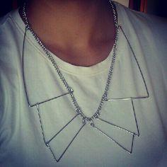 Silver Collar. H.