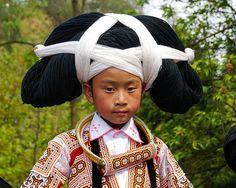 The Long Horn Miao   Longga, Guizhou, China