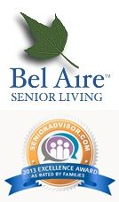 Bel Aire Senior Living wins 2013 Excellence Award!