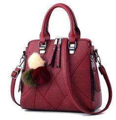 469ff52b0a1 US  9.50 Pu Leather Women s Tote Bag Hand Bag Shoulder Bag Large Size Black  Handbags