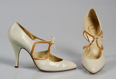 Shoes Retailer: Cypris Date: 1958 Culture: French Medium: Leather