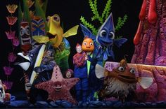 Finding Nemo Musical...Animal Kingdom Park