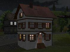 Kleinstadthäuser Set 1