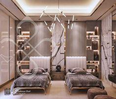 Modern Luxury Bedroom, Luxury Bedroom Design, Master Bedroom Interior, Room Design Bedroom, Room Ideas Bedroom, Home Room Design, Luxurious Bedrooms, Home Interior Design, Living Room Designs