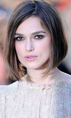 Keira Knightleys Short Hairstyle At The A Dangerous Method Premiere, 2011
