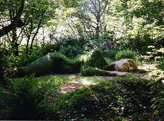 Asleep on the job ~ Lost Gardens of Heligan, Cornwall