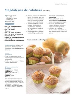 85 sopas y cremas 11 15 themomix Thermomix Cupcakes, Tapas, Food N, Make It Simple, Almond, Muffin, Vegetables, Breakfast, Victoria