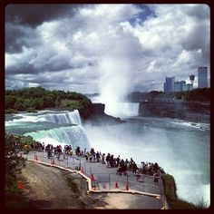 Niagara Falls (American Side) in Niagara Falls, NY...really no excuse for never having been, since I've lived in New York my entire life, went to college upstate, and have visited Canada several times :-/