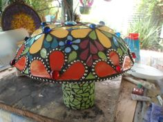 Mushroom 1 by Poppins Mosaics and Crafts, via Flickr