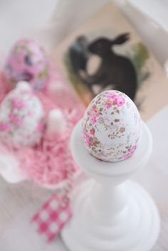 such pretty Easter eggs