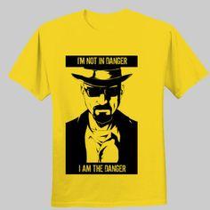 Camiseta i'm the danger breaking bad
