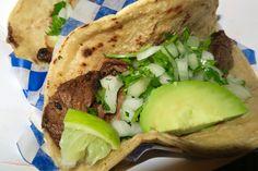 A good looking and yummy steak taco from Northfield's Taco Nano!