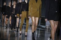 Anthony Vaccarello Fall 2016 Ready-to-Wear Atmosphere and Candid Photos - Vogue