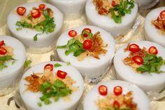 Jajanan pasar dari beras kue talam ebi yang lezat dan gurih, resepnya ada di sini