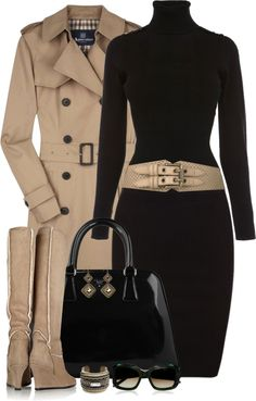 """""""Black and Tan"""" by partywithgatsby on Polyvore"""