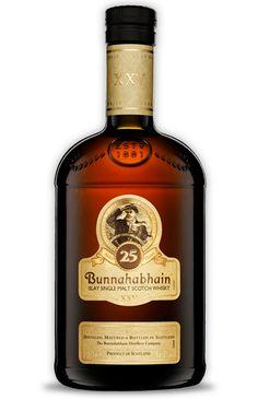 Bunnahabhain 25 year old Islay Single Malt Scotch Whisky