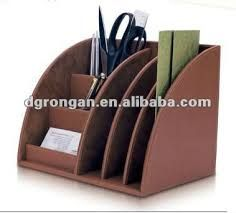 accesorios de cuero para escritorio