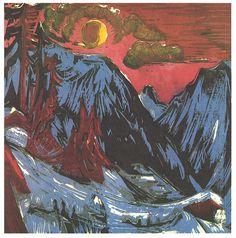 Kirchner - Mondnacht - Ernst Ludwig Kirchner - Wikimedia Commons