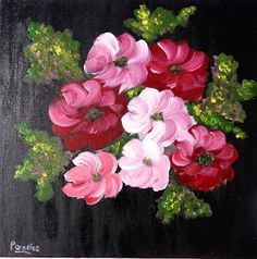 """DailyPainting-Leipzig:  and a renewed """"old"""" painting...y una """"vieja"""" pin..."""