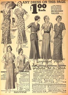 Sears, 1932- Sears had everything, they used to be so popular!
