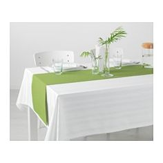 IKEA - MÄRIT, Table-runner, The runner protects the table and creates a decorative table setting.Colours are retained wash after wash thanks to the yarn-dyed cotton.