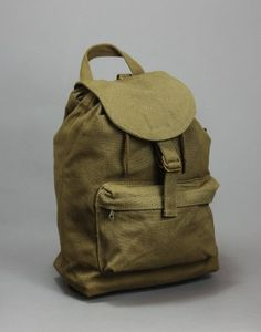 Canvas Backpack   THE GOODS DEPT ●