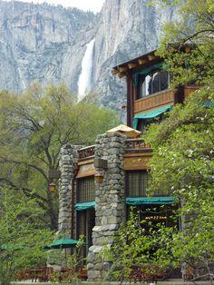 Ahwahnee Hotel & Yosemite Falls ~ Yosemite National Park, California