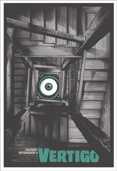 Vertigo Alfred Hitchcock by Gary Pullin