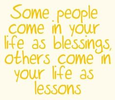 blessings & lessons