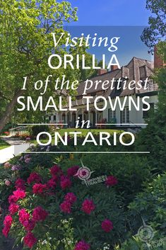 Small Town Ontario, Done Right It took me more than 50 years before I visited Orillia, and I was delighted to discover a small town the way all small towns should be. Travel Tours, Travel Destinations, Travel Ideas, Quebec, Ontario Travel, Small Town America, Canadian Travel, Visit Canada, Going On Holiday