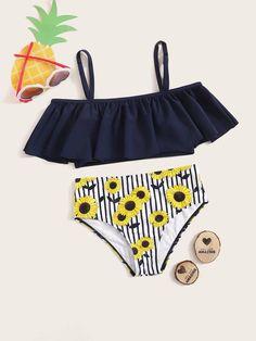 2020 New Tummy Control Swimwear Uk 2 Piece Swimwear Buy Bikini Swimwea – coothl Bathing Suits For Teens, Summer Bathing Suits, Vintage Bathing Suits, Cute Bathing Suits, Swimwear Uk, Monokini Swimsuits, Swimwear Fashion, Bikini Fashion, Swimsuits For Tweens
