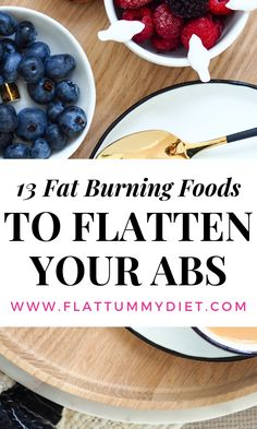 17 best fat burning foods to lose belly fat fast and naturally. These belly fat flattening foods will help reduce bloating and keep your gut healthy. Lose Tummy Fat, Burn Belly Fat Fast, Fat Belly, Lose Weight Running, How To Lose Weight Fast, Weight Loss Blogs, Fast Weight Loss, Tummy Flattening Foods, Flat Tummy Foods