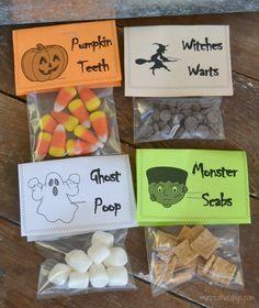Halloween treat bags -cute!
