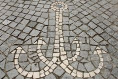 Anchor from mosaics in Portugal