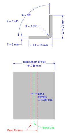 Understanding Bend Allowance And Bend Dedcution In Inventor Sheet Metal Fabrication Sheet Metal Sheet Metal Work