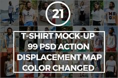Tshirt Mockup by kiwiandkiwi on @creativemarket