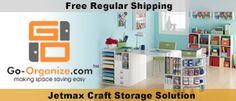 #papercraft #craft supply #organizing solutions from Go-Organize.com via PaperCrafter'sCorner.com
