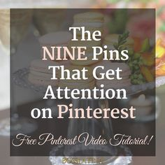 Still trying to figure out what Pin style to choose for your blog? My latest blog post outlines the 9 pin types that generate the most attention on Pinterest so that you can decide what will work best for you. Plus I have free video training on branding your Pinterest account and creating those cover images to build a more professional Pinterest account that your fans will want to follow! Link in bio http://ift.tt/2gJ7qFA
