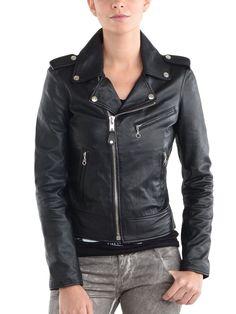 5681c4ec24b 100% New Genuine Leather Lambskin Women Biker Motorcycle Jacket Ladies  KLW634  fashion  women