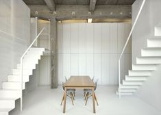 "Loft FOR renovated apartment in Brussels by adn Architectures  INSTORE ""CONTEMPORARY FURNITURE & INTERIOR DESIGN"" SINCE 1980. www.instoreshop.be/ www.instore.be/"