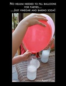 Crafty ideas- DIY helium balloons -  I have no idea if this works but if there is another helium shortage I just might try it.