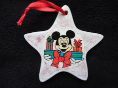 Disney MICKEY Mouse Christmas ornament Donald Daisy Duck on Etsy, $5.00