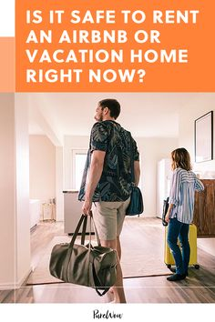 As the world slowly reopens during COVID-19, is it safe to rent an Airbnb or vacation rental home right now? #vacation #airbnb #rent