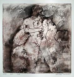 Les temps révolus by Philippe Chesneau - Héliogravure Not toxic engraving - tirage print vieille Hollande H L 20 x 20 cm