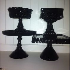Cake pedestals and footed bowls by Rosanna